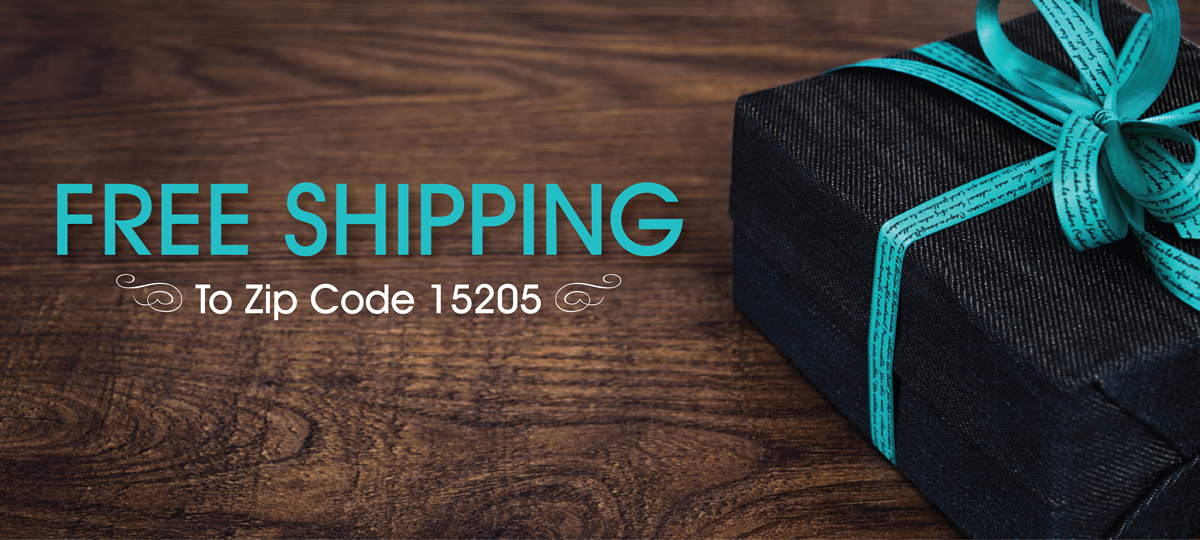 Free Shipping to 15205