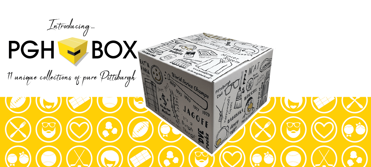 Introducing PGH-BOX: 11 Collections of Pure Pittsburgh