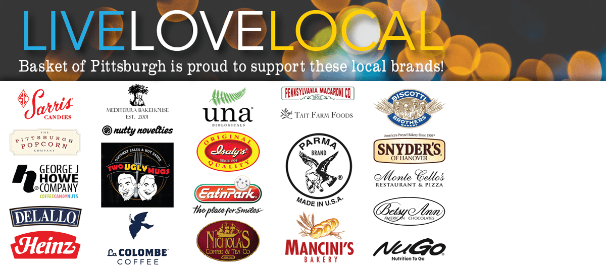 We Are Proud to Support these Local Brands.