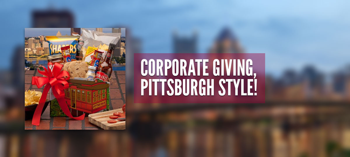 Corporate Giving, Pittsburgh Style!