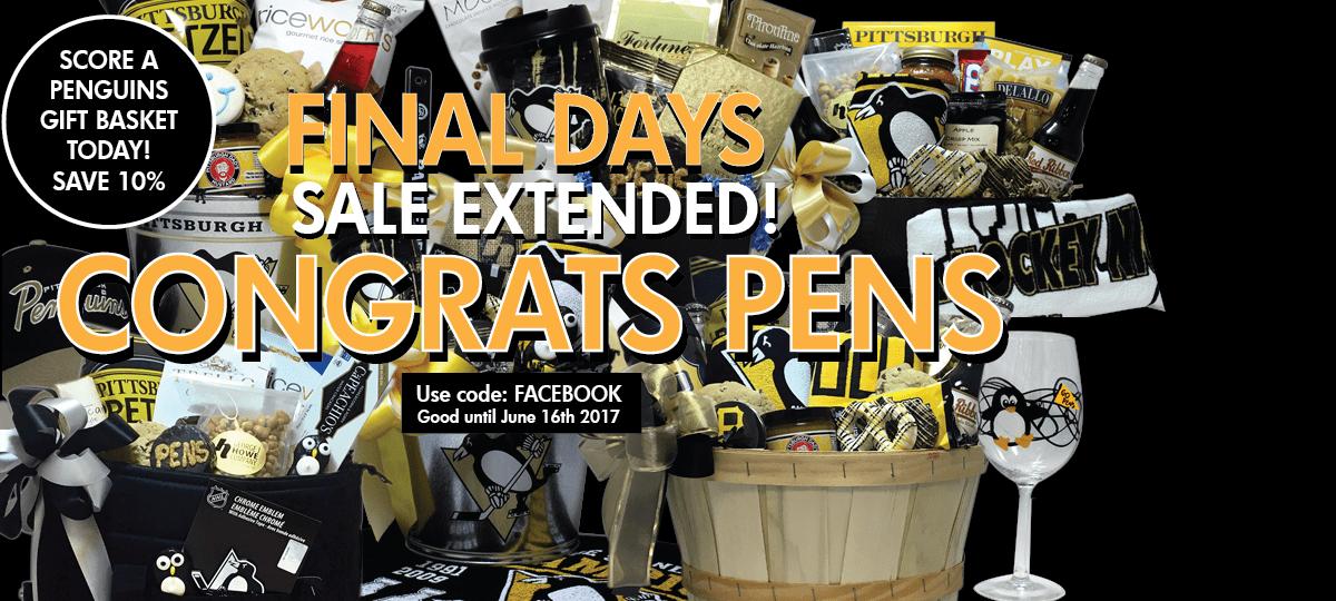 LETS GO PENS! Score a Penguins Gift Basket Today!
