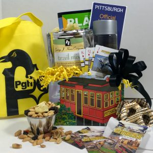 Basket of Pittsburgh signature incline box