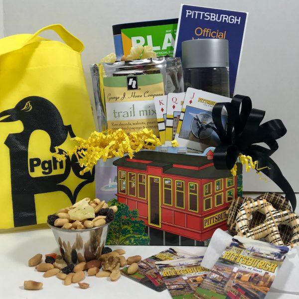 Basket of Pittsburgh signature incline box