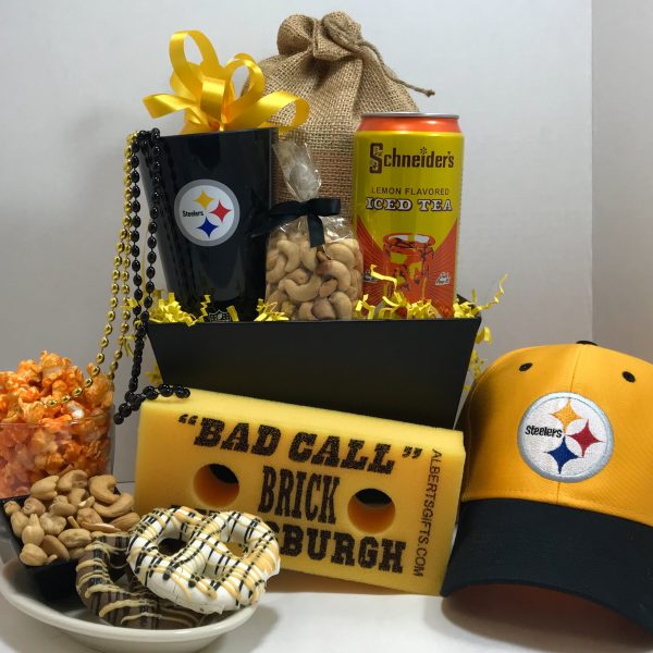 Steeler Nation Gifts - Basket of Pittsburgh