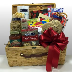 Pittsburgh's favorites in a dinner and a movie gift basket