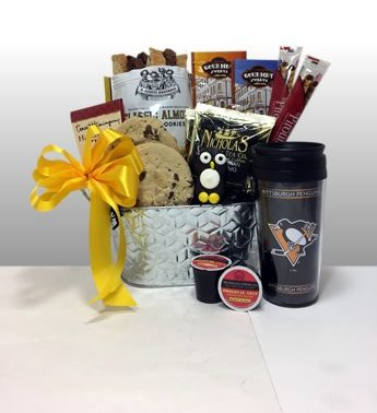 Pittsburgh Penguins Gift Basket