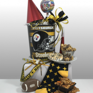 Most creative and unique sports gifts in Pittsburgh. Preferred gift company of Steeler Nation. Convention and meeting orders welcome. From 1-4,000 gifts, Basket of Pittsburgh can handle all of your gift needs. Custom orders available.