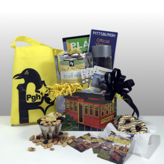 Basket of Pittsburgh gift basket are the best and most popular gift baskets in Pittsburgh. Creative gifts. Fun gifts. Pittsburgh themed gifts. Corporate gifts. Custom gifts. Since 1984, Basket of Pittsburgh has been sending gifts that embody the spirit of Pittsburgh all over the world. Local delivery by Basket of Pittsburgh driver or shipped nationally via UPS.