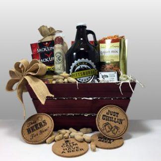 Craft Beer Growler Gift Basket.