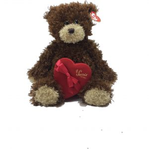 Valentines Day!  Teddy Bear with Pittsburgh's favorite Sarris candy heart.