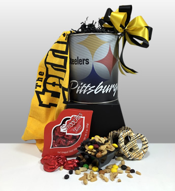Steeler valentine's day gifts. Local delivery or shipping available.