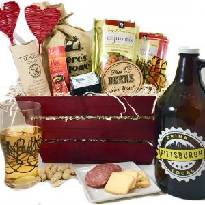 "A ""Drink Local"" Pittsburgh Growler and glass for your favorite beer ""lover""!"