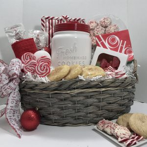 Cookies for Santa. Basket of Pittsburgh.