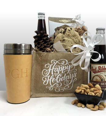 Basket of Pittsburgh is an award winning gift basket company in Pittsburgh. This neat holiday gift is packed full of full size products - sweet, savory and salty. One of the best destinations for the best holiday gifts in Pittsburgh. Order your gifts today - local delivery or shipped nationally.