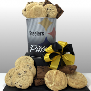 Since 1984, Basket of Pittsburgh has been sending gifts around the world that embody the spirit of Pittsburgh. Authentic Pittsburgh Steelers gifts and preferred vendor for Steeler Nation. Send the best Steelers gifts to your Steeler fan near or far. Delivery locally or ship nationwide via FedEx.