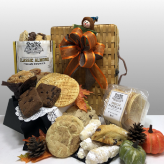 The delicious basket full of fresh baked goods from Pittsburgh's best companies is a best seller. Biscotti Brothers, Apple Cookie Company, Theresa's Italian Cookies, Mediterra Bakehouse and more....these are local favorites! Basket of Pittsburgh is your one stop shop for the best gift baskets in Pittsburgh.