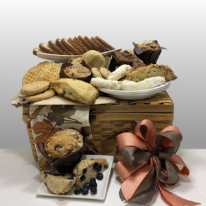 Basket of Pittsburgh has been creating classy, sophisticated and creative gifts that embody the spirit of Pittsburgh since 1984. An award winning gift basket company, you can be confident that you are making a great selection for your gift giving. With over 35 years of experience, we know all the tricks of the trade and put together the best gifts in the USA. Call today to order Fresh Baked Sweet Treats by Basket of Pittsburgh.
