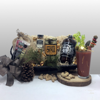 This is the best gift in Pittsburgh for those that love bloody mary's! This bloody mary gift basket is new and quickly became a favorite. Basket of Pittsburgh has the best gifts in Pittsburgh, An award winning company, you can get everything you need for all occasion and any recipient. Local delivery in Pittsburgh or shipped nationally.