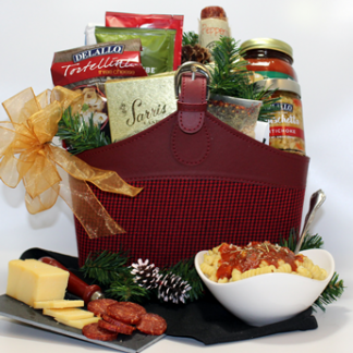 The best italian dinner gift baskets in Pittsburgh. It offers the best products from local merchants. This classy design is a best seller in Pittsburgh.