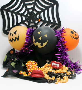 Creative and scary halloween gifts by Basket of Pittsburgh. Fun halloween gifts by basket of pittsburgh. Trick or treat gifts. Halloween gifts for kids by Basket of Pittsburgh.